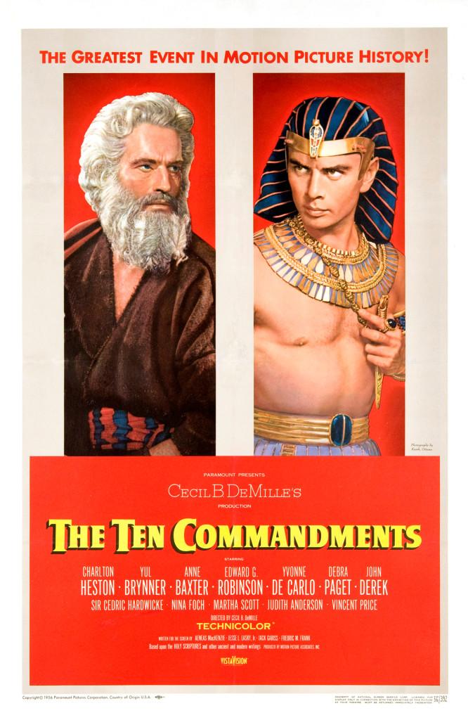 Ten Commandments Movie Poster