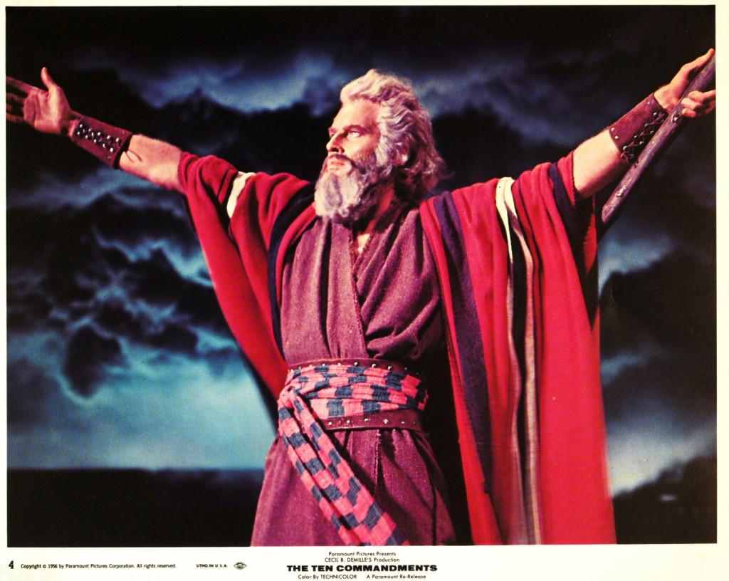 Ten Commandments Lobby Card