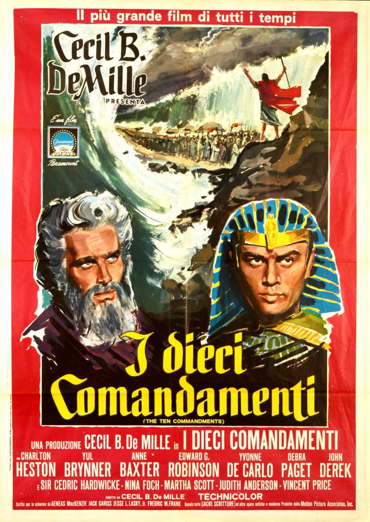 Ten Commandments Poster