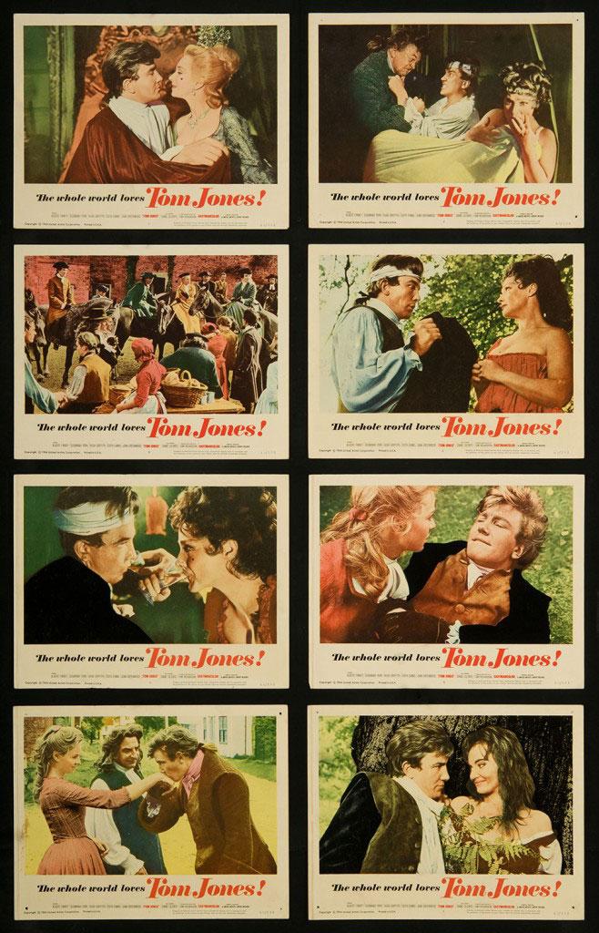 Tom Jones Lobby Cards